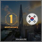 韓國一週年